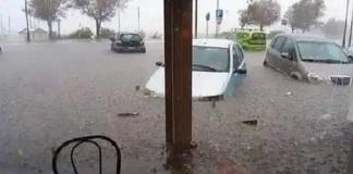 Il maltempo mette la Campania sotto acqua e fango