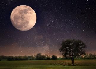 Luna piena del mais