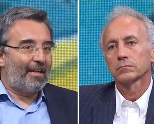 Marco Damilano e Marco Travaglio