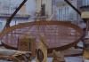 Roccamonfina, la padella in grado di cuocere ben 1.200 chili di caldarroste in una volta sola