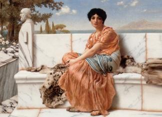 Saffo, la prima poetessa