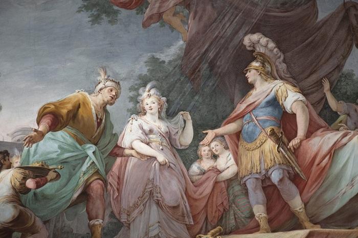 Sala di Alessandro, Reggia di Caserta