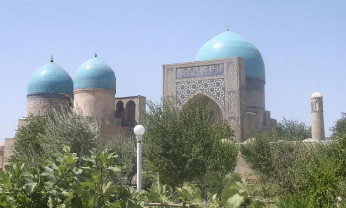 Shakhrisabz, Moschea Kok-Gumbaz