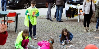 Abbattimento delle barriere architettoniche alla villetta di via Arno, e il Comitato Caserta Viva organizza una festa
