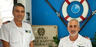 Cambio al vertice della Guardia Costiera di Mondragone