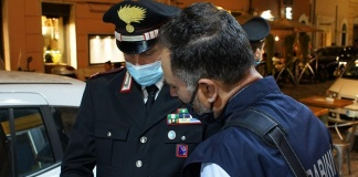 Carabinieri effettuano un servizio coordinato di controllo del territorio