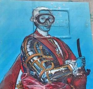 Carlo III, opera di Blub