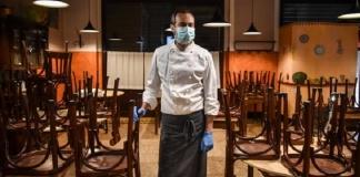 Covid, ristoranti chiusi