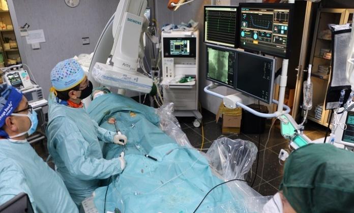 A Maddaloni la prima procedura di crio-ablazione con sistema POLARx per i cardiopatici con Fibrillazione Atriale