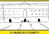 """La Reggia di Caserta tra i """"Fumetti nei Musei"""" protagonisti della Settimana della Lingua Italiana nel Mondo"""