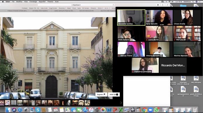 Tour virtuale a Palazzo Paternò