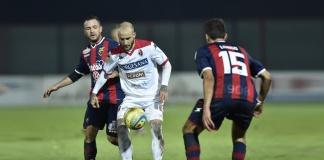 In momento di Casertana-Bari della scorsa stagione (foto Giuseppe Scialla)