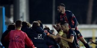 La Casertana risorge in terra pugliese, tre reti e prima vittoria stagionale