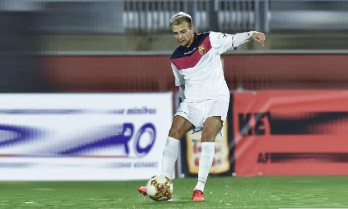 Mak Varesanovic, centrocampista della Casertana (Foto Giuseppe Scialla)