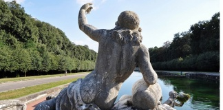 Uno scorcio del Parco della Reggia di Caserta