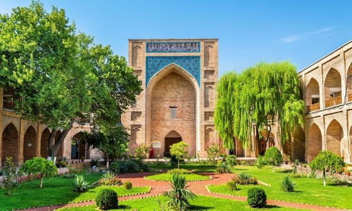 Kukeldash Madrasah, una madrasa medievale a Tashkent (Uzbekistan)