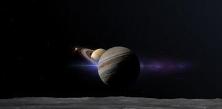 L'abbraccio tra Giove e Saturno