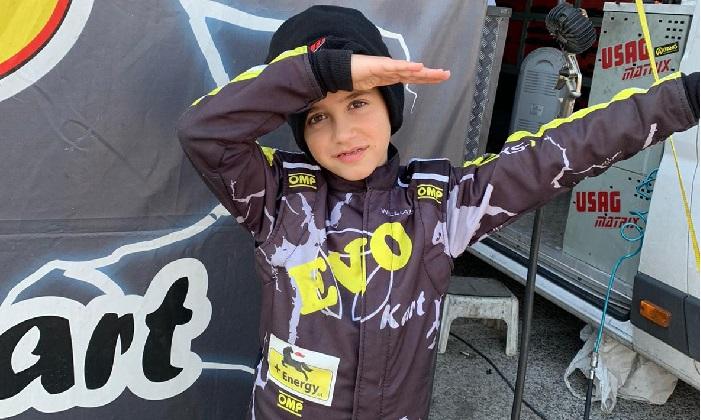 Kart, finale di stagione da incorniciare per il piccolo Samuele Giannini  che ringrazia tutti |