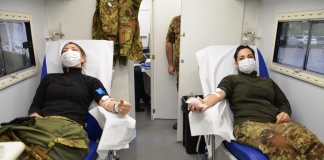 Alla Scuola Specialisti Aeronautica di Caserta una giornata all'insegna della donazione del sangue