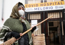 Epifania al Melorio Covid Hospital di Santa Maria Capua Vetere
