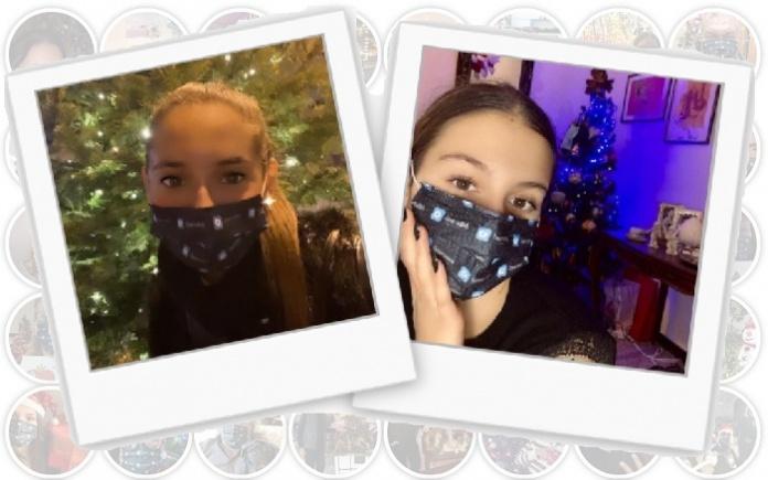 Le due vincitrici del contest di Natale