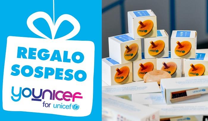 Regalo sospeso dell'UNICEF