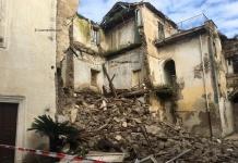 Caserta, Parco Cerasole: paura a via Giulia, crolla una palazzina