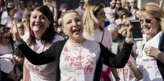 """Podismo solidale: con """"TUTTEinsieme"""" da Capua la marcia contro il tumore al seno"""