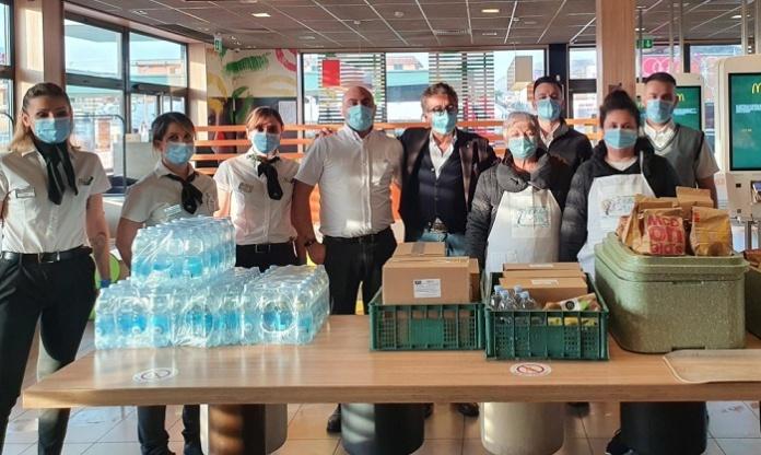 A Maddaloni McDonald's donerà, insieme a Banco Alimentare Campania, 200 pasti caldi a settimana fino a fine marzo