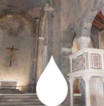 Al Duomo di Casertavecchia il progetto Gocce d'Acqua realizzato da un'idea di Giuseppe Ottaiano