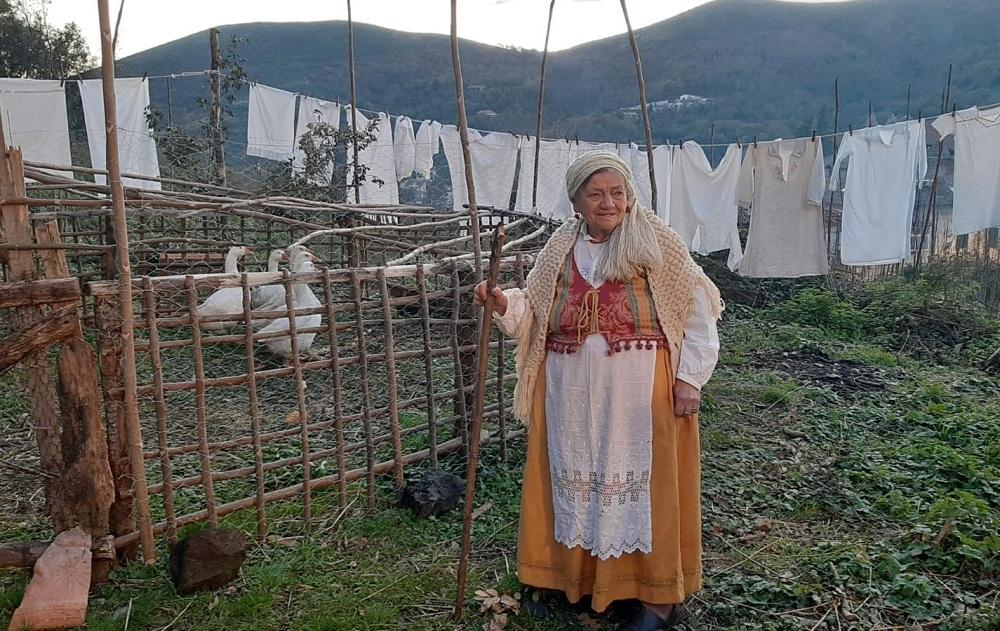 Anna Bottone nel Presepe Vivente del '700 Napoletano a Vaccheria (Caserta)