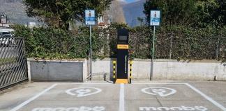 Piedimonte Matese, installata la prima colonnina per auto elettriche del Matese