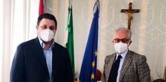 Carlo Marino ha ricevuto oggi la visita del nuovo presidente dell'Ance