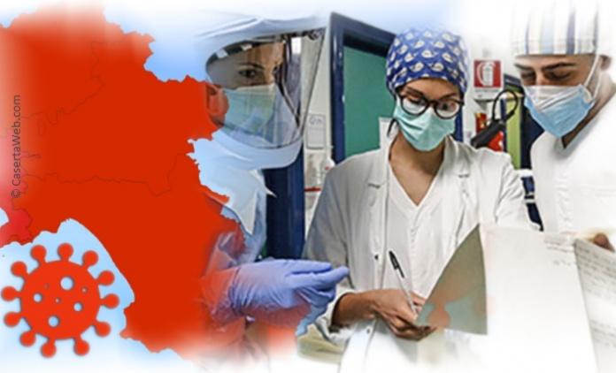 Coronavirus in Campania, dati allarmanti