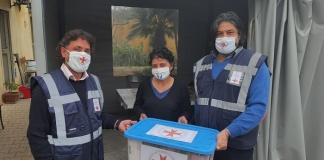 Donate coperte e mascherine all'ODV L'Angelo degli ultimi dal Servizio Assistenza Civile del V.E.O.S.P.S.S.