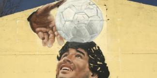 Murales Diego Armando Maradona a Caserta