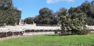 Reggia di Caserta, Lavori di restauro della Fontana Margherita