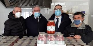 Le Acli di Caserta hanno donato prodotti di generi alimentari
