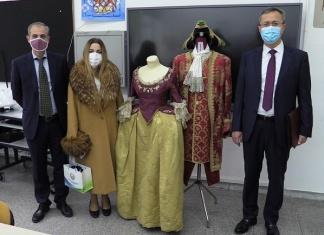 "Liceo Artistico ""San Leucio"", visita dell'Ambasciatore uzbeko"