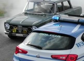 Festa della Polizia lo spot come una scena di Ritorno al futuro