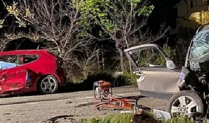 Incidente frontale in diretta Instagram, morti tre giovani della provincia di Caserta