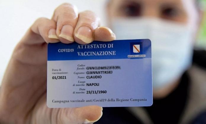 Pass di vaccinazione