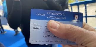 Attestato di vaccinazione