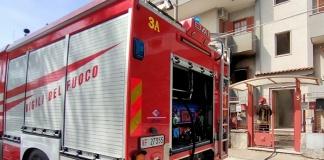 Aversa, la cucina prende fuoco, intervento dei Vigili del Fuoco per domare le fiamme