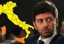 Un'Italia tutta gialla o quasi. Oggi il Governo decide su restrizioni e un possibile spostamento del coprifuoco