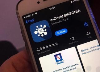 e-Covid Sinfonia, ad un anno dal lancio l'App Soresa Regione Campania prima in classifica