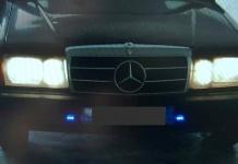 Arrestati due albanesi a bordo di un'auto dotata di sirena e lampeggianti