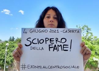Ex Omni al Centro Sociale di Caserta, entriamo in sciopero della fame