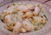 Gnocchi con zucchine e speck