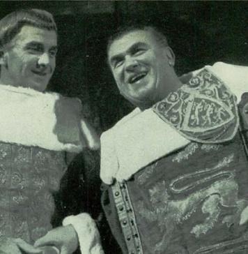 Massimo Girotti e Gino Cervi